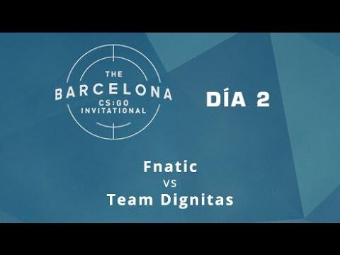Fnatic vs Team Dignitas [Cbble] - Día 2 - ESL Expo Barcelona CS:GO Invitational - Español