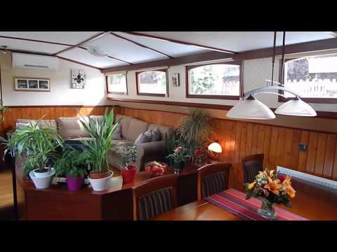 Luxemotor Dutch  Barge Hotel Charter Barge or luxury live ab