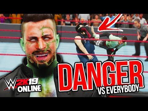 WHAT A PERFORMANCE!! | WWE 2K19 Online w/ Chris Danger #1 |