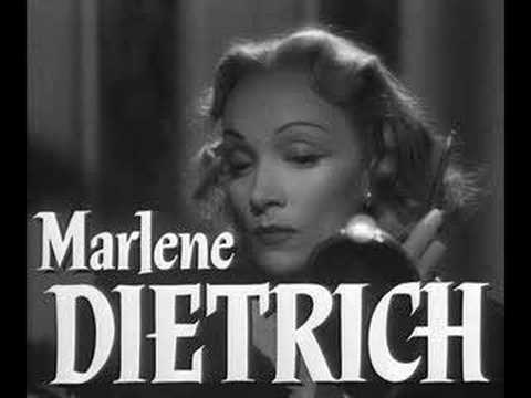 Marlene Dietrich - Kisses Sweeter Than Wine