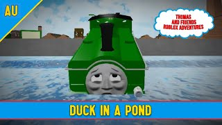 Thomas and Friends Roblox Adventures || Episode 2 || Duck In A Pond
