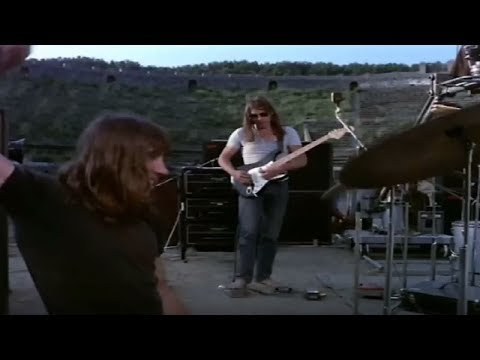 Pink Floyd - A Saucerful Of Secrets Live At Pompeii 1972 [HD]