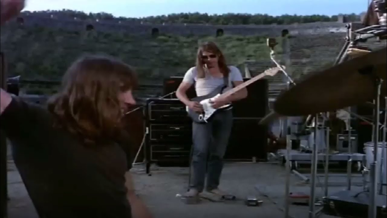Pink Floyd - A Saucerful Of Secrets Live At Pompeii 1972 |Full HD|