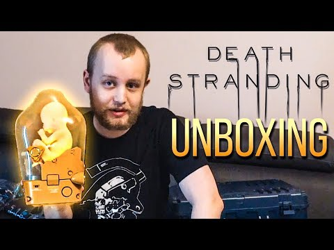 unboxing-death-stranding-collector-39-s-edition-merch