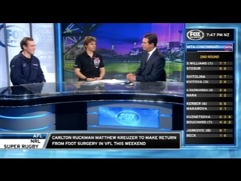 Fox Sports News: Shannon Rentsch & Jack Rhodes (Waikerie Review)