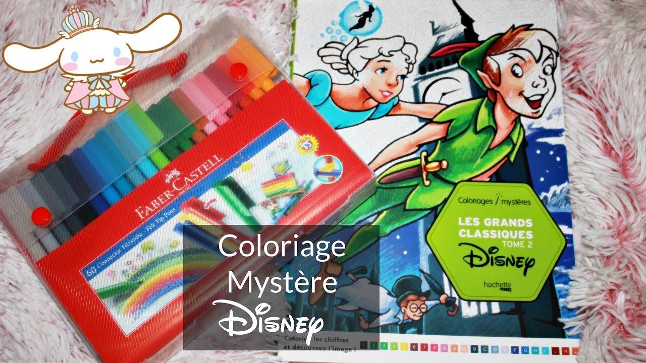 Coloriage mystère Disney n°17