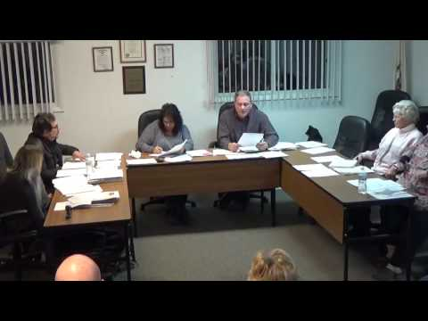 01/18/16 Village of Holiday Hills Board Meeting