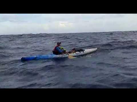 Atletanan a rema exitosamente riba kayak di Corsou pa Aruba!