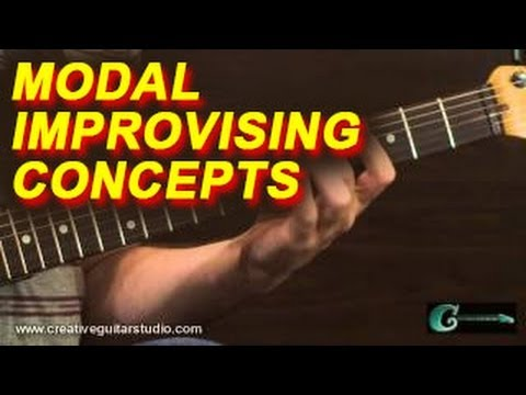 IMPROVISATION - Modal Improvising Concepts