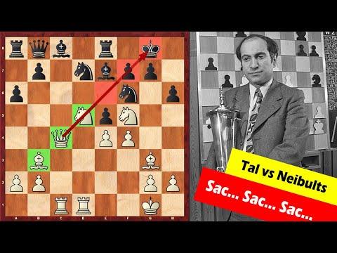 This Is Why We Love Mikhail Tal! Sac... Sac... Sac...