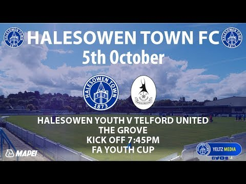 HIGHLIGHTS | Halesowen Town Youth v AFC Telford United Youth [05/10/2017]