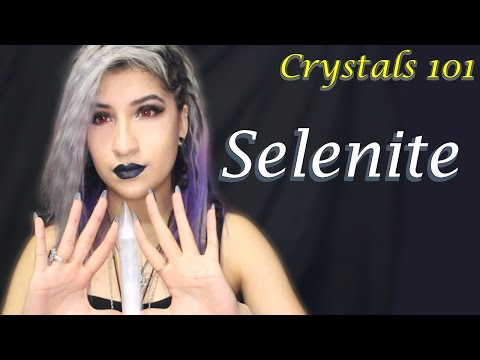 Selenite | Stone of Angel Communitcation | Crystal 101
