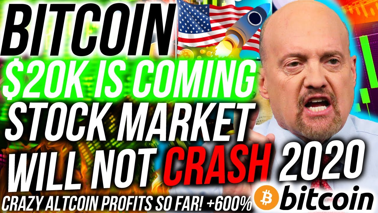 Bitcoin IS GOING TO $20k! Here is why... Stock Market WILL NOT CRASH! My Altcoin PROFIT is INSANE!