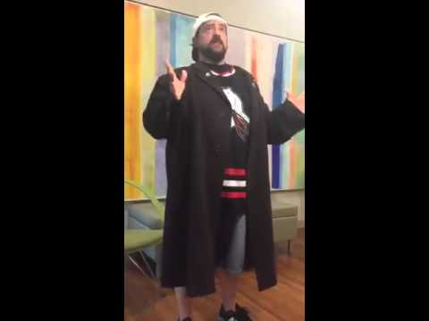 Kevin Smith at Ringling College in Sarasota