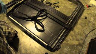 e36 Sunroof DIY part 1