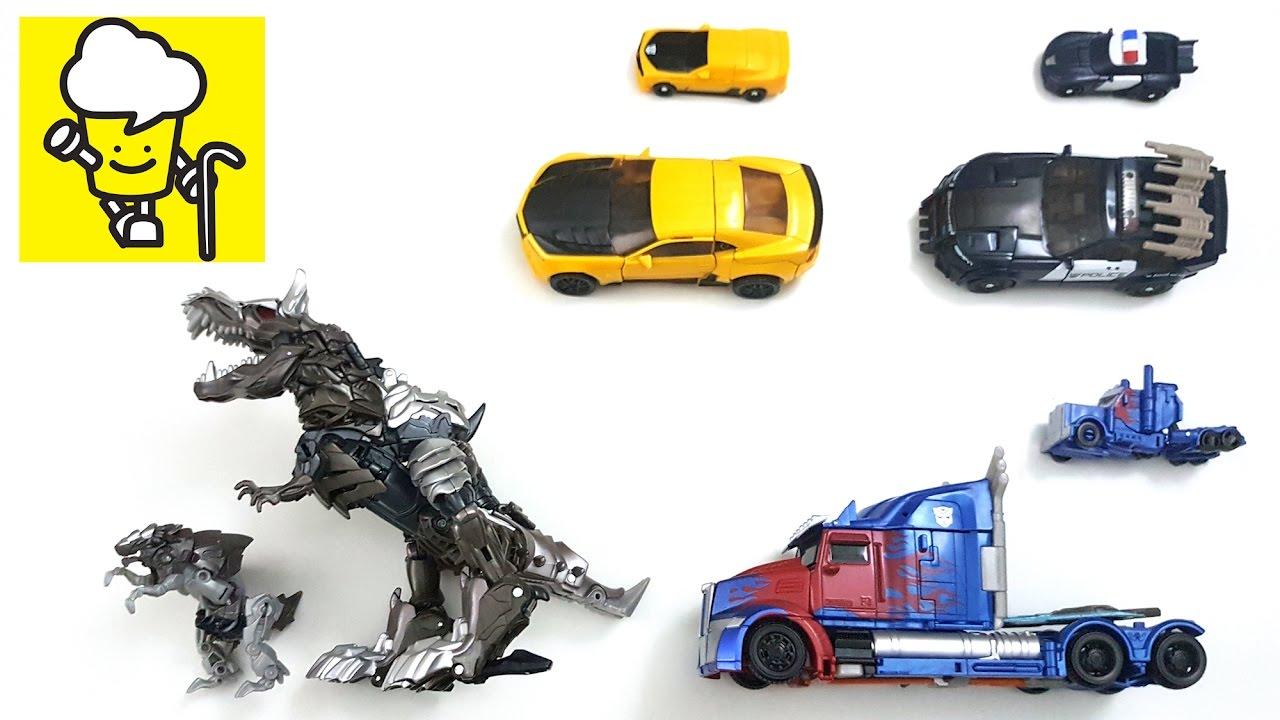 transformers 5 the last knight optimus prime bumblebee barricade