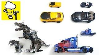 Transformers 5 The Last Knight Optimus Prime Bumblebee Barricade Grimlock Vehicle Car Toys Mp3