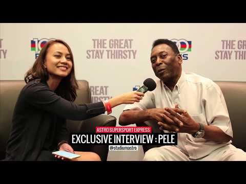 Pele Interview | Express | Astro SuperSport