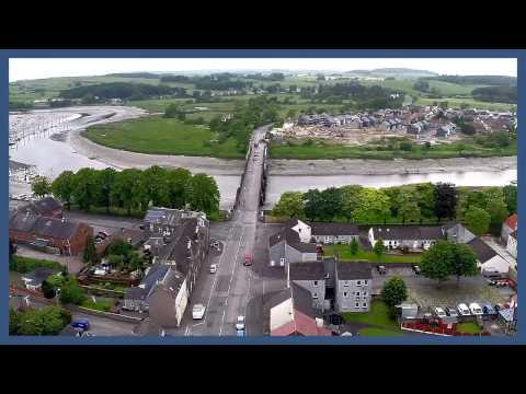 Kirkcudbright Birds Eye View.  01