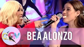 Vice Ganda and Bea Alonzo take on the Chubby Bunny Challenge | GGV