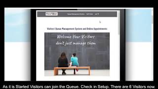 How to Start Online Appointments on Website. Make Free Visitors Queue Management System