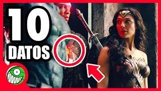 ¡La película de JUSTICE LEAGUE que nadie vio! | 10 curiosidades de Liga de la Justicia