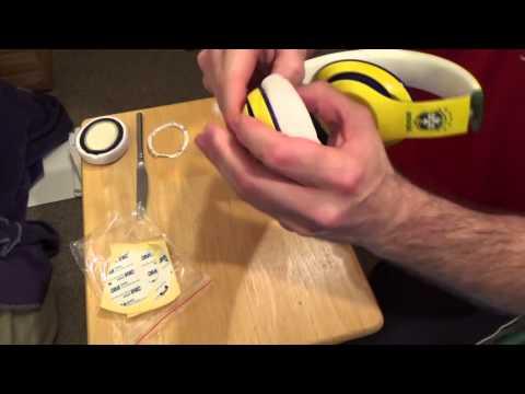 AHG Beats Studio 2.0 Ear Pad Installation - Old Video