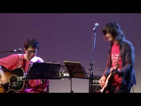 『トンネル抜けて』 うつみようこ+河村博司@沖縄~東京 PEACE CARNIVAL 2010