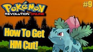 Pokemon Revolution Online - How To Get HM Cut! Episode 9