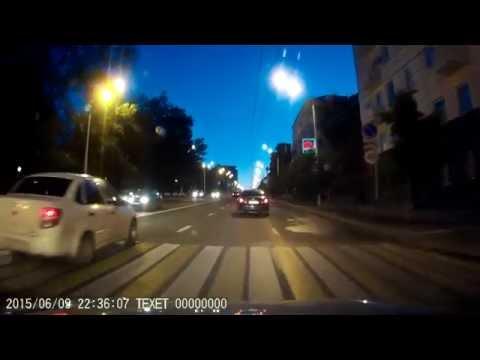 Красивая вечерняя Уфа, июнь 2015