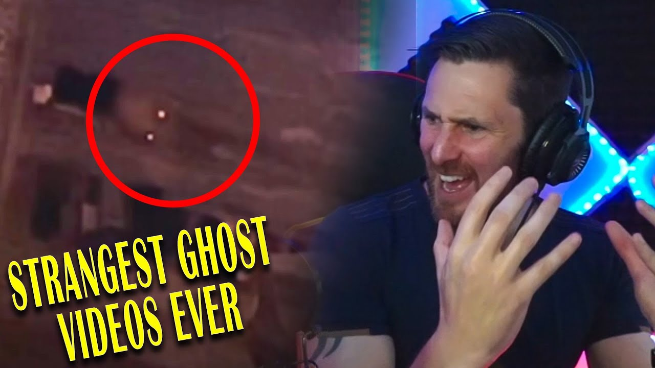 TOP SCARY GHOST VIDEOS WITH STRANGE BODIES - KINGFROSTMARE REACTION