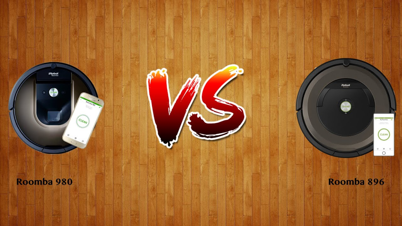 I Robot Roomba Opinioni.Roomba 980 Vs Roomba 896 Robot Vacuum Comparison Youtube