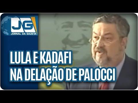 Lula e Kadafi na delação de Palocci