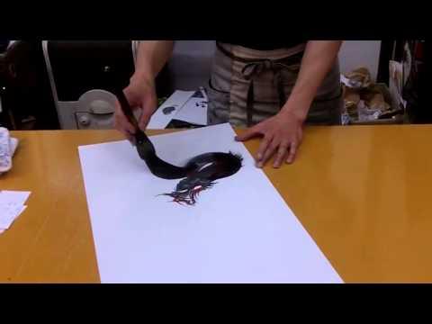Japanese Dragon Painter Has Amazing Skills