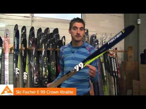 Skis Fischer E99 Crown Xtralite