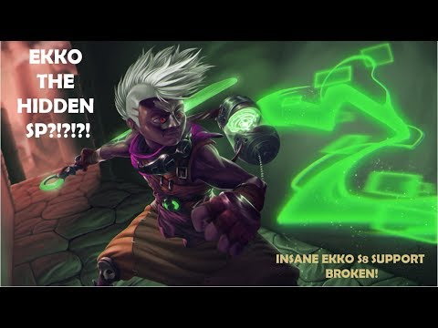 INSANE EKKO AS SUPPORT IN S8 (PERFECT SUPPORT!)