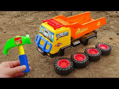Construction Vehicle Toys Assembly Cars