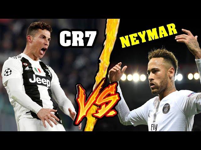Cristiano Ronaldo VS Neymar - Battaglia Rap Epica - Manuel Aski