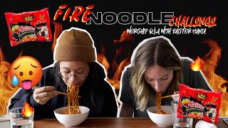FIRE NOODLE CHALLENGE - WORSHIP Q&A WITH PASTOR MANDI