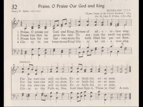 SDCF 09 16 1984p Hymn 32 Praise O Praise Our God and King
