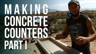 Making Concrete Counter Tops - Part 1
