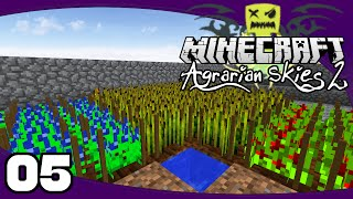 Agrarian Skies 2 - Ep. 5: Advanced Agricraft | AS2 Minecraft Modpack Let's Play