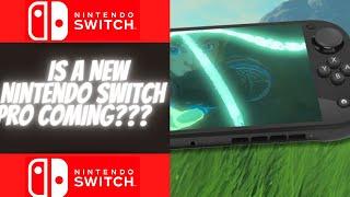 Is Nintendo Releasing A New Nintendo Switch Pro Alongside Zelda Breath Of The Wild 2???