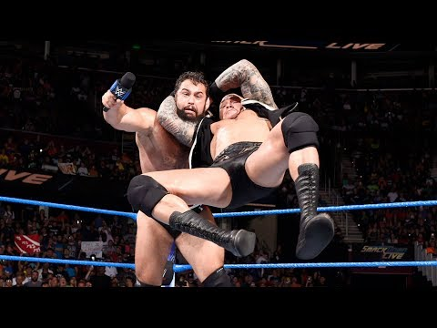 Relive Randy Orton's ring-rocking RKO on Rusev from SmackDown LIVE: Aug. 5, 2017