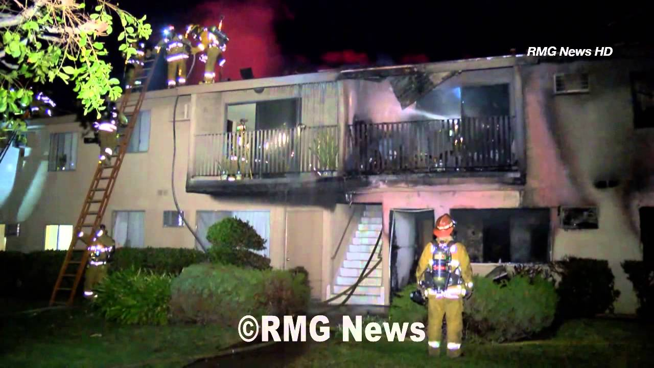 Seven people injured in Rowland Heights apartment fire