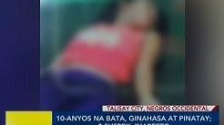 BP: 10-anyos na bata, ginahasa at pinatay sa Talisay City