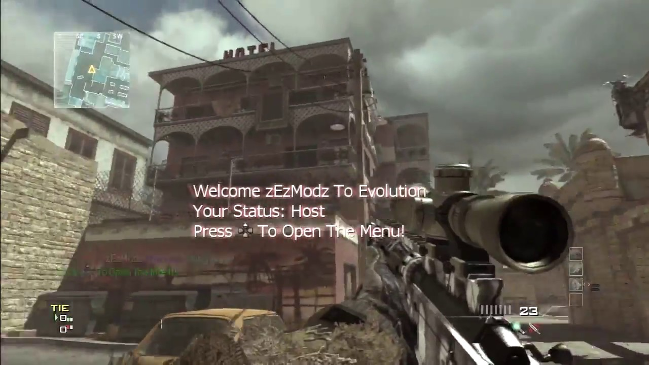 how to use the nibs mod menu