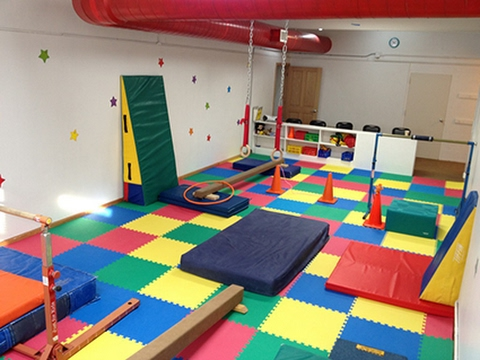 New gymnastics room update