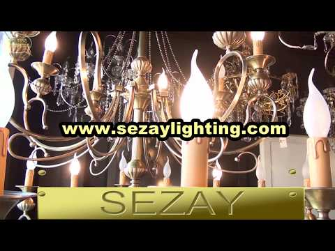 ENG | Istanbul laleli | Crystal chandelier | Sezay Lighting | Gold plated chandelier