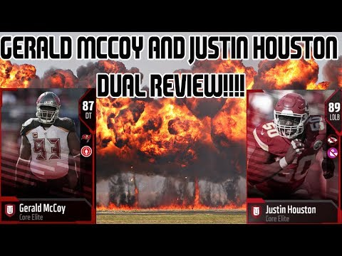 Justin Houston and Gerald McCoy Dual Review! MUT 18